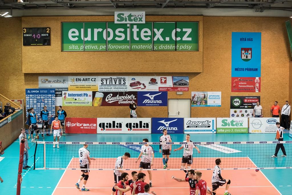 Čtvrtfinále play-off (6. zápas): Euro Sitex Příbram - České Budějovice